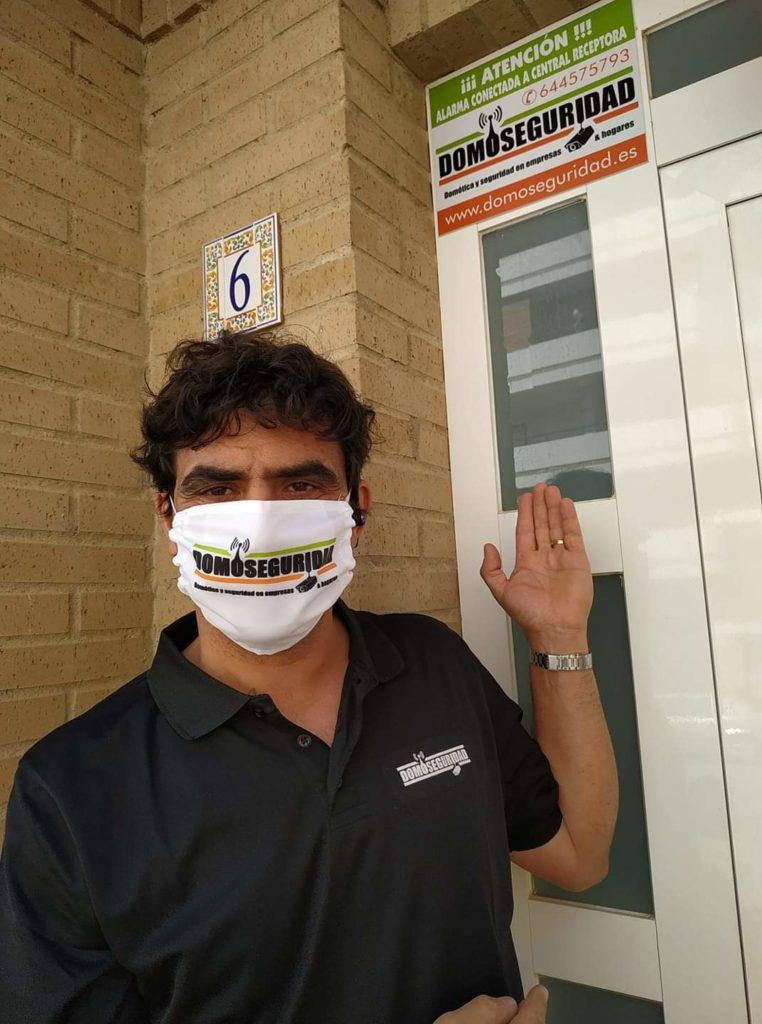 Paco, sociofundador de Domoseguridad.